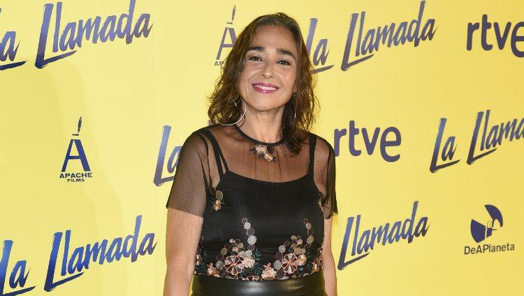 María Isabel Díaz en el estreno de 'La llamada'