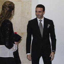 La Infanta Elena y Enrique Ponce en la entrega del Premio Taurino ABC