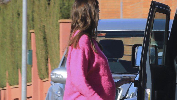 Eva González, embarazada y paseando por Sevilla