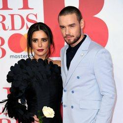 Liam Payne y Cheryl Cole en la alfombra roja de los Brit Awards 2018