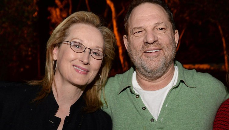 Harvey Weinsteins y Meryl Streep juntos en Los Ángeles