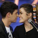 Amaia y Alfred, muy cariñosos durante su intervención en 'El Hormiguero'