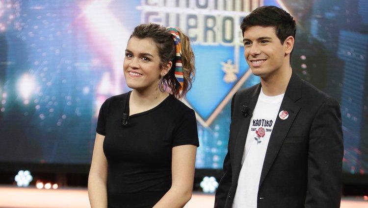 Amaia y Alfred, sonrientes en 'El Hormiguero'