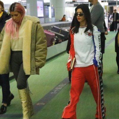 Kim y Kourtney Kardashian llegan a Tokyo