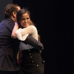 José Ortega Cano junto a Gloria Camila en una gala benéfica
