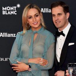 Carmen Jordá y Christoph Grainger en los Premios Laureus 2018