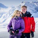 Guillermo Alejandro y Máxima de Holanda, felices y enamorados en su posado de invierno en Lech