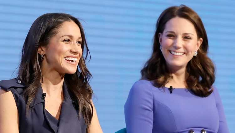 Meghan Markle y Kate Middleton, muy cómplices en el Forum de la Royal Foundation