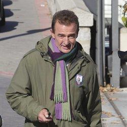 Alessandro Lequio paseando por Madrid