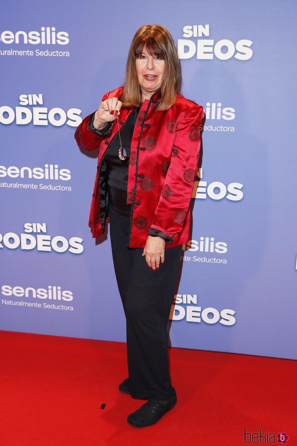 Esperanza Gracia en la premier de la película 'Sin Rodeos'