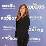 Verónica Romero en la premier de la película 'Sin Rodeos'