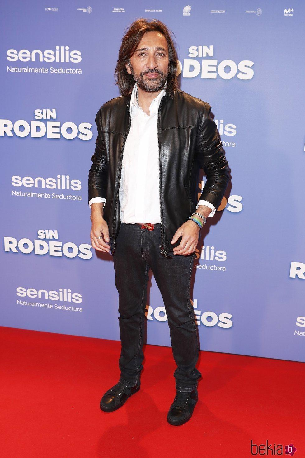 Antonio Carmona en la premier de la película 'Sin Rodeos'