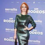 Cristina Castaño en la premier de la película 'Sin Rodeos'