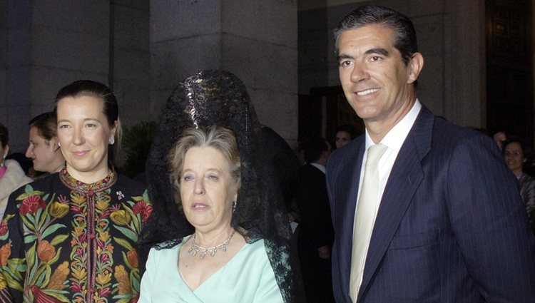Cristina de Borbón Dos Sicilias, Pedro López Quesada e Inés de Borbón Dos Sicilias