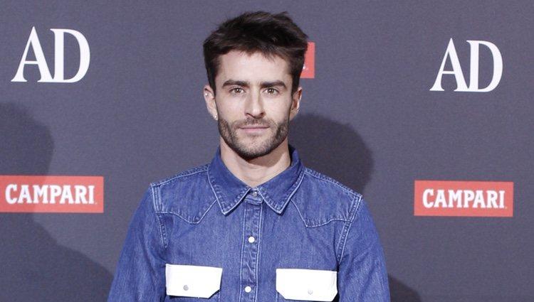 Pelayo Díaz en los Premios AD
