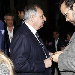 Fernando Martínez de Irujo en el 38 cumpleaños de Juan Peña