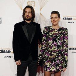 Carlota Casiraghi junto a su novio Dimitri Rassam en los Premios César 2018