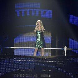 Nerea durante los ensayos del primer concierto de la gira de 'OT 2017'