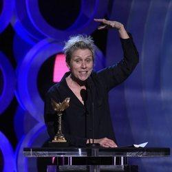 Frances McDormand en los Independent Spirit Awards 2018