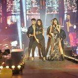 Aitana y Ana Guerra en el primer concierto de la gira de 'OT 2017' en Barcelona