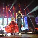 Ana Guerra en el primer concierto de la gira de 'OT 2017' en Barcelona