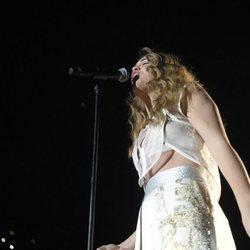 Amaia en el primer concierto de la gira de 'OT 2017' en Barcelona