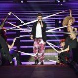 Agoney en el primer concierto de la gira de 'OT 2017' en Barcelona