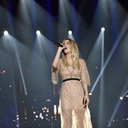 Nerea en el primer concierto de la gira de 'OT 2017' en Barcelona