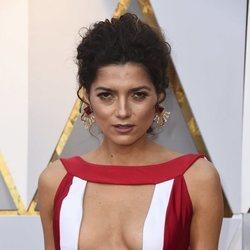 Blanca Blanco en la alfombra roja de los Premios Oscar 2018