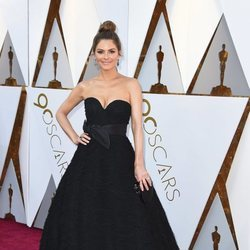 Maria Menounos en la alfombra roja de los Premios Oscar 2018