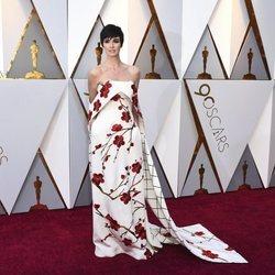 Paz Vega en la alfombra roja de los Premios Oscar 2018