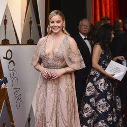 Abbie Cornish en la alfombra roja de los Premios Oscar 2018