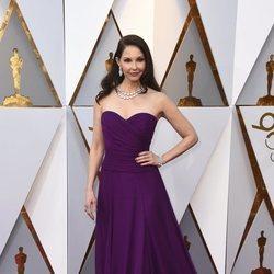 Ashley Judd en la alfombra roja de los Premios Oscar 2018