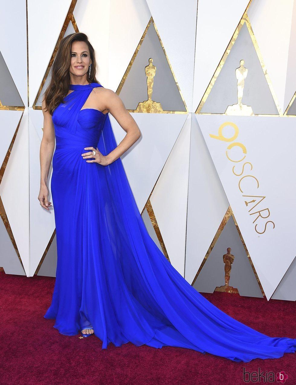 Jennifer Garner en la alfombra roja de los Premios Oscar 2018