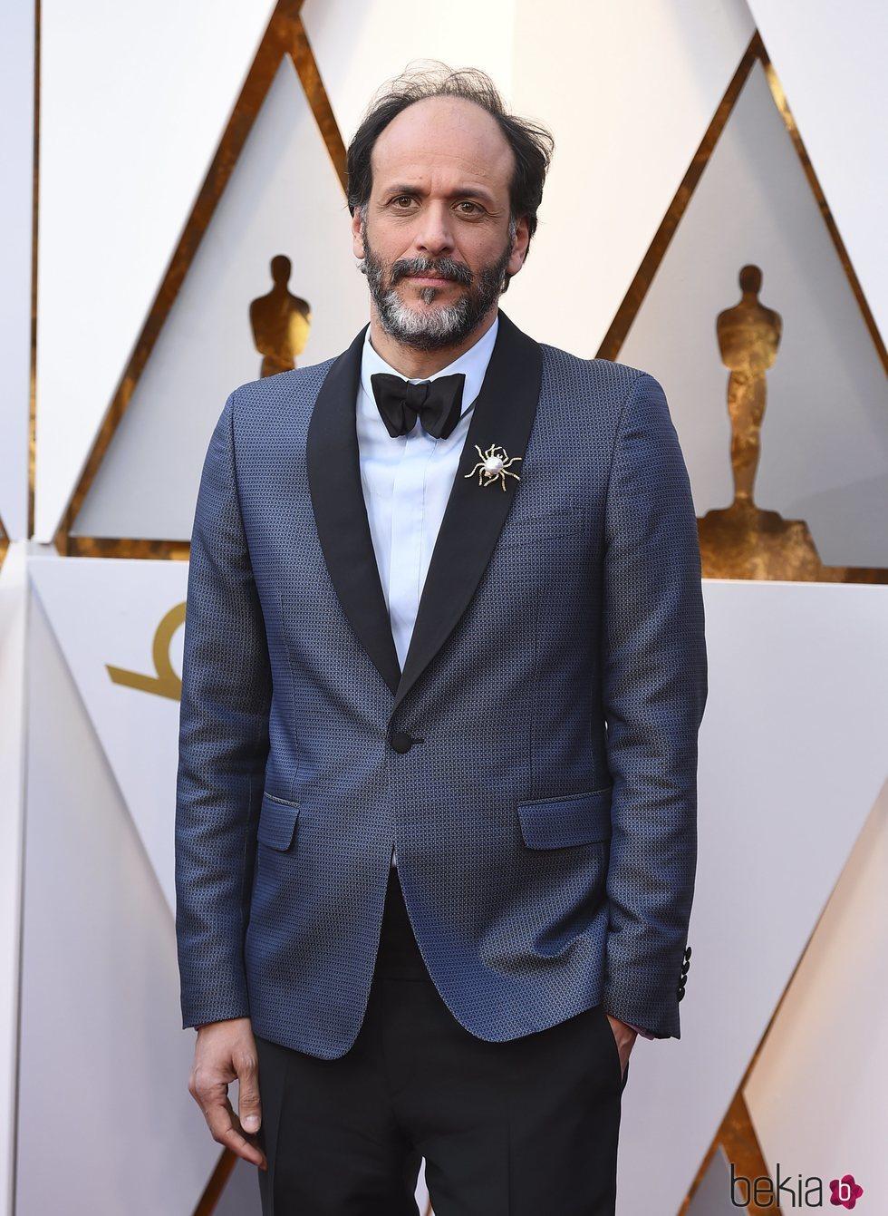 Luca Guadagnino en la alfombra roja de los Premios Oscar 2018