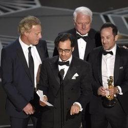 David Fialkow, Dan Cogan, James R. Swartz y Bryan Fogel ganan el Oscar 2018 a la mejor película documental