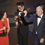 Lucy Sibbick, Kazuhiro Tsuji y David Malinowski ganan el Oscar 2018 al mejor maquillaje y peluquería