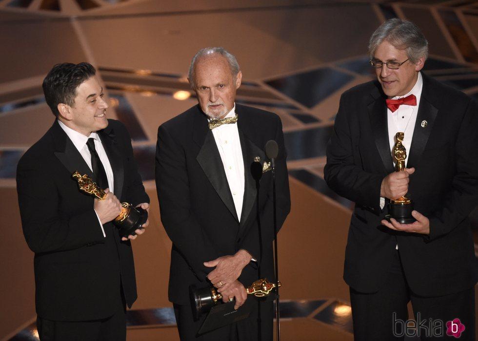 Gary A. Rizzo, Gregg Landaker y Mark Weingarten ganan el Oscar 2018 al mejor sonido