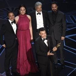 Sebastian Lelio, Nicolas Saavedra, Daniela Vega, Alejandro Goic y Pablo Larrain ganan el Oscar 2018 a la mejor película de lengua extranjera