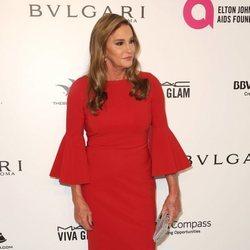 Caitlyn Jenner en la fiesta de la Fundación Elton John tras los Oscar 2018