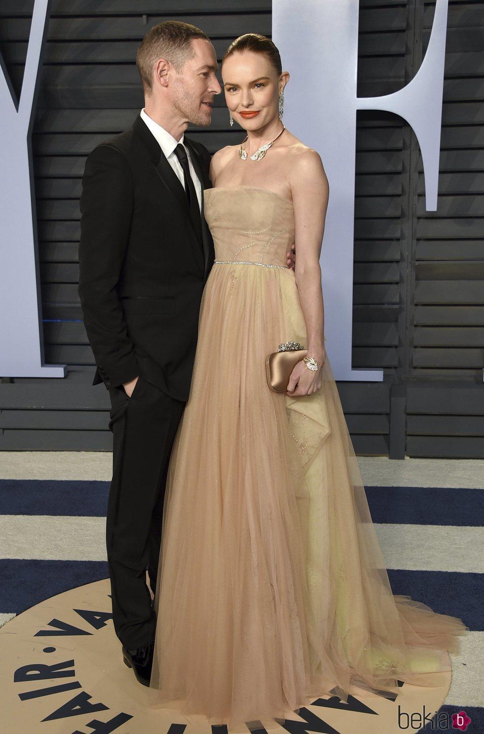 Kate Bosworth y Michael Polish en la fiesta Vanity Fair tras los Oscar 2018