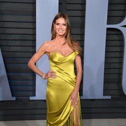 Heidi Klum en la fiesta Vanity Fair tras los Oscar 2018