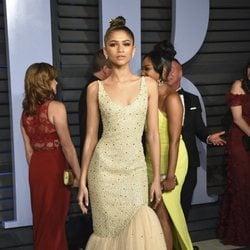 Zendaya en la fiesta Vanity Fair tras los Oscar 2018