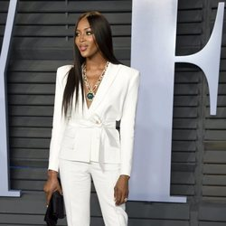 Naomi Campbell en la fiesta Vanity Fair tras los Oscar 2018