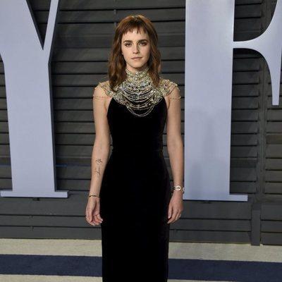 Emma Watson en la fiesta Vanity Fair tras los Oscar 2018
