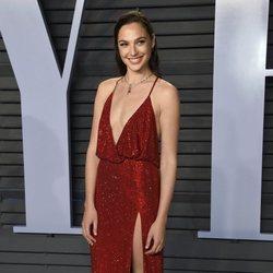 Gal Gadot en la fiesta Vanity Fair tras los Oscar 2018