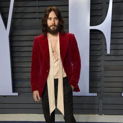 Jared Leto en la fiesta Vanity Fair tras los Oscar 2018