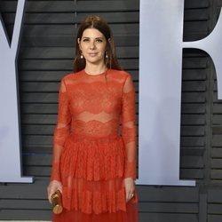 Marisa Tomei en la fiesta Vanity Fair tras los Oscar 2018