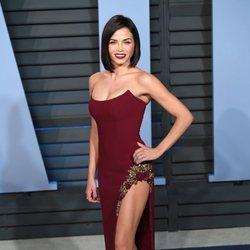 Jenna Dewan en la fiesta Vanity Fair tras los Oscar 2018