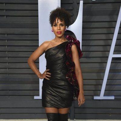 Kerry Washington  en la fiesta Vanity Fair tras los Oscar 2018